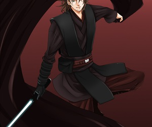 Anakin Skywalker, anime, and star wars image
