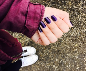 cold, converse, and nails image