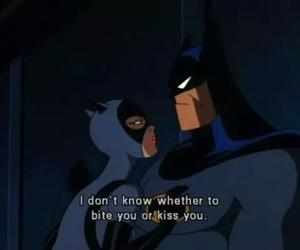batman, catwoman, and kiss image