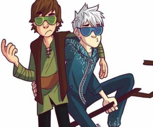 jack frost, hiccup, and swag image