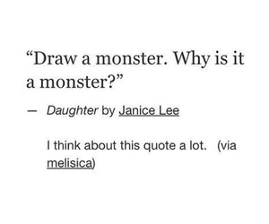 deep, hate, and monster image