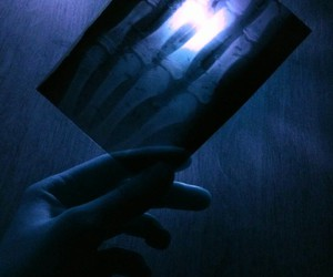 blue, horror, and night image