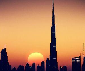 Dubai, paradise, and sky image