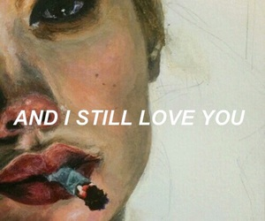 art, cry, and love image