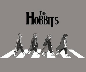 hobbit, the beatles, and the hobbits image