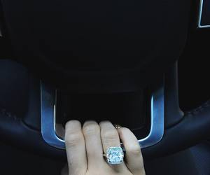 kylie jenner, car, and ring image