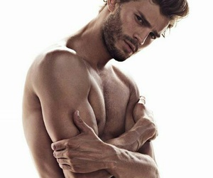 Jamie Dornan, hombres, and christian grey image