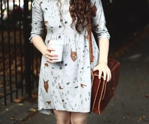 automn, dress, and outfit image