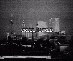 world, grunge, and cruel image