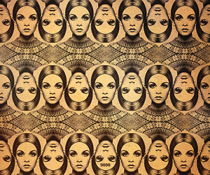 twiggy and pattern image