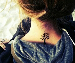 arbre, tattoo, and tatouage image