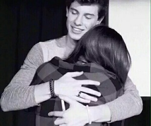 shawn mendes, hug, and shawn image