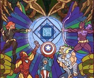 thor, Avengers, and Hulk image