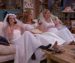 bridal, monica geller, and mon image