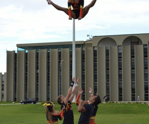 brasilia, cheerleading, and brazil image