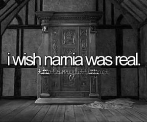 narnia, quote, and real image