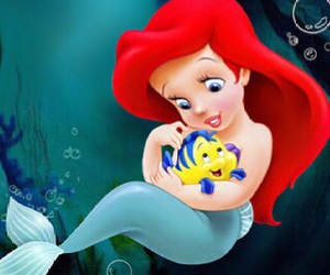 disney, ariel, and cute image