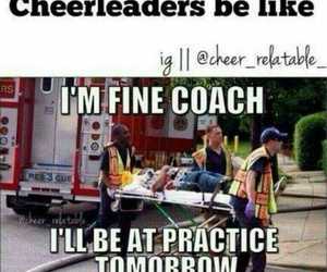 Cheerleaders and funny image