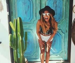 summer, girl, and tumblr image
