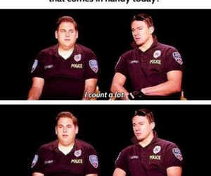 funny, channing tatum, and 21 jump street image
