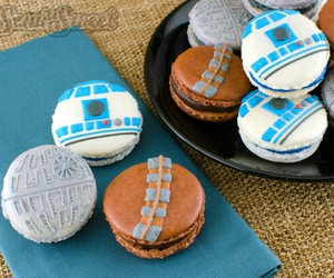 star wars, food, and macaroons image