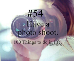 54, 100 things to do in life, and photo image