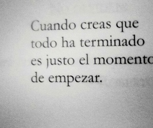 frases, momento, and empezar image