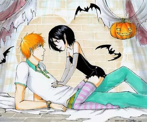 bleach, ichiruki, and Ichigo image