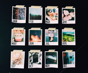 2016, calendar, and cool image