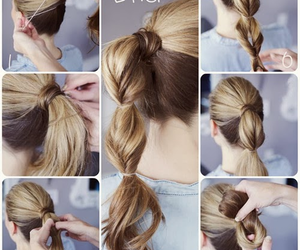 hairstyle, hair, and diy image