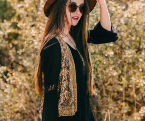 bohemian, boho, and fashion image