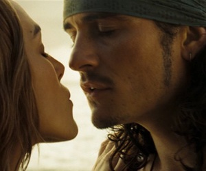 couple, keira knightley, and orlando bloom image