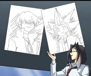 yami, yugi, and seto kaiba image