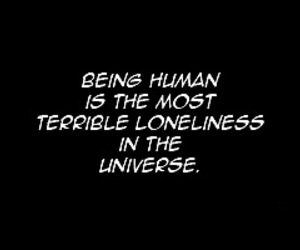human, quote, and anime image