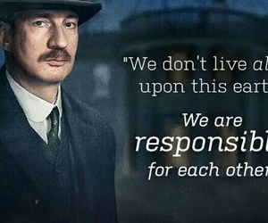 ABC, quote, and an inspector calls image