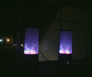 aesthetic, rad, and led speakers image