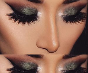 beautiful, eyeshadow, and glamourous image