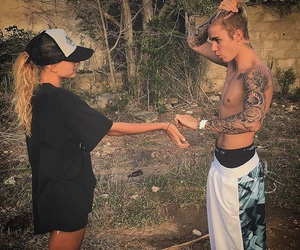 justin, tattoo, and cute image