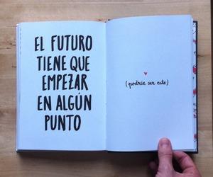book, point, and futuro image