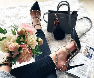 fashion, bag, and girly image