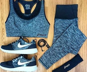 fashion, fitness, and outfit image