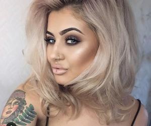 artist, highlight, and makeup image
