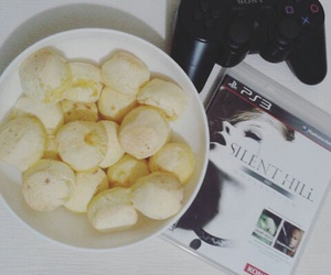 food, games, and playstation image