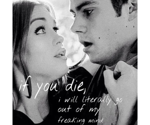 teen wolf, stydia, and styles and lydia image