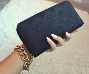 fashion, nails, and Louis Vuitton image