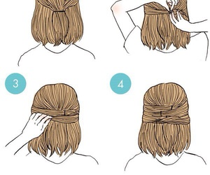 Easy and hairstyle image