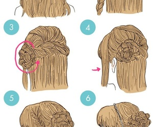 braid, hairstyle, and beautiful image