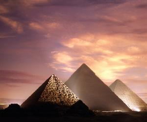 pyramid, egypt, and beautiful image