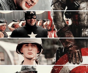 captain, captain america, and civil war image