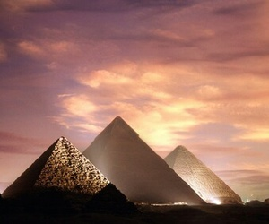 adventure, ancient, and pyramid image